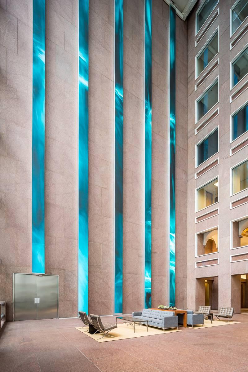 Wells Fargo Lobby LED Panels