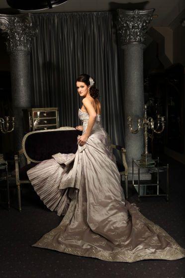 Mon Amie Salon Fashion Shoot, St. Pucci bridal dress