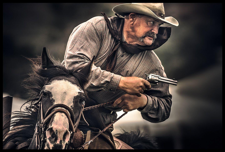 western gunslinger
