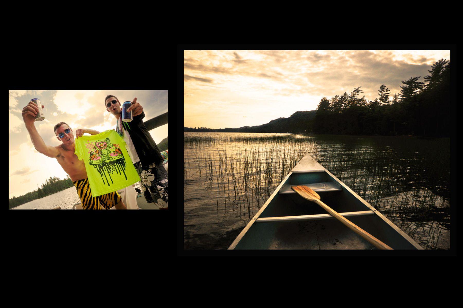 Adirondak lake culture