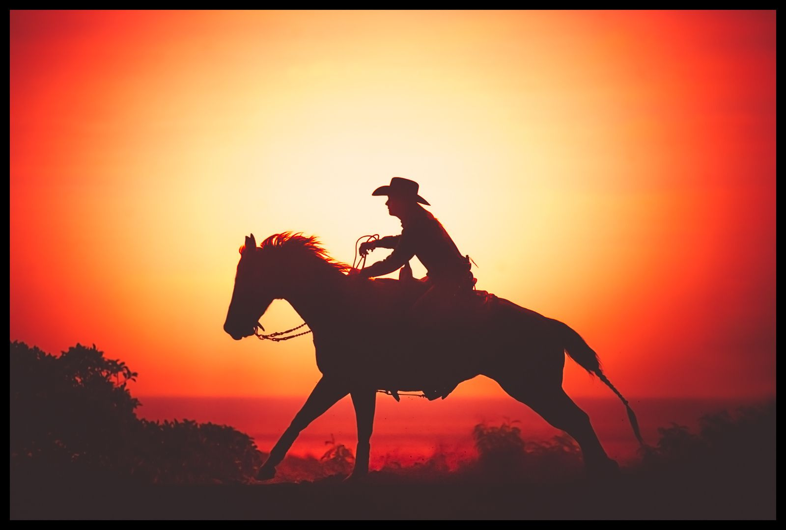 1rodeo_cowgirl_sunset