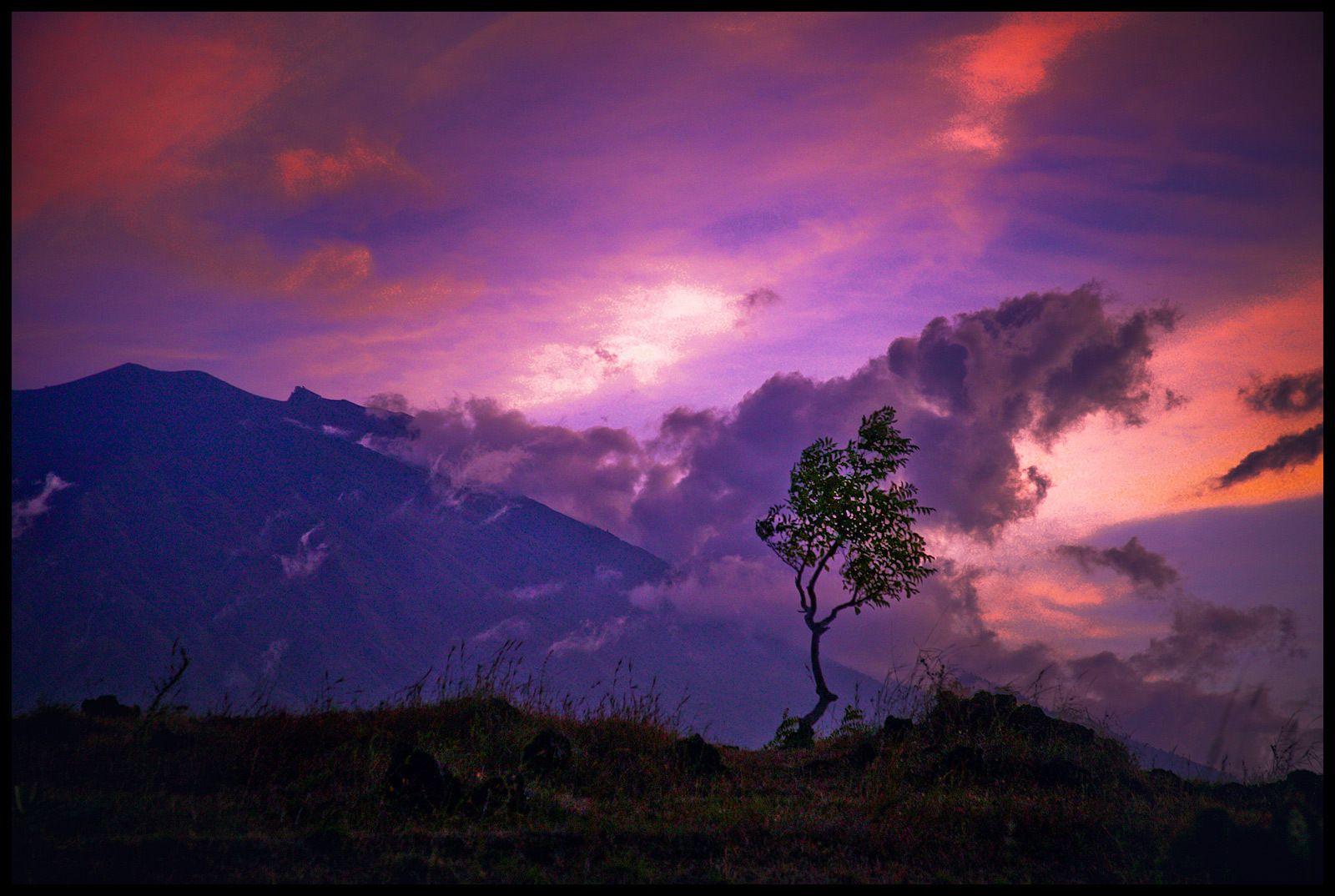 Mount Batur volcano, Bali