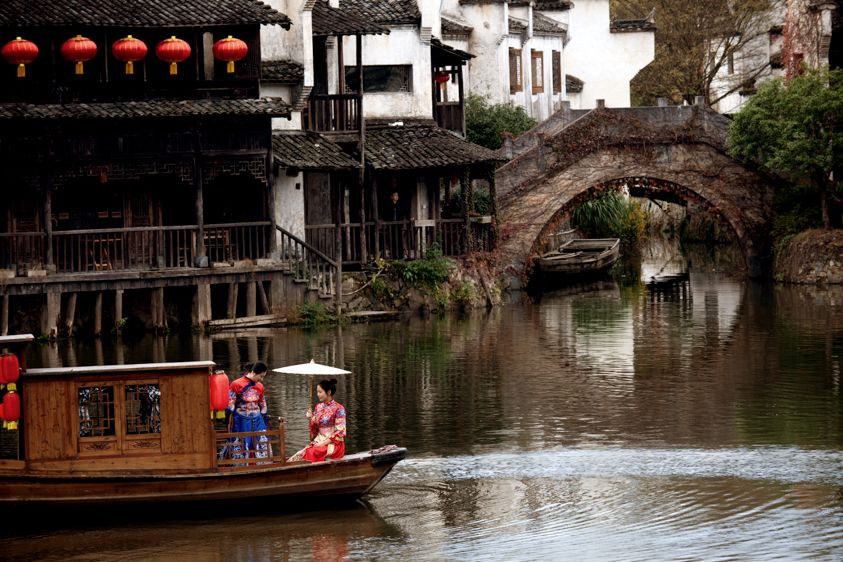 Chinese River Boat