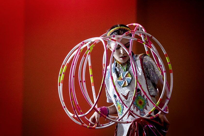 Bearsheart Hoop Dancer