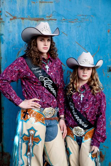 Katrina and Addison-Rodeo Royalty