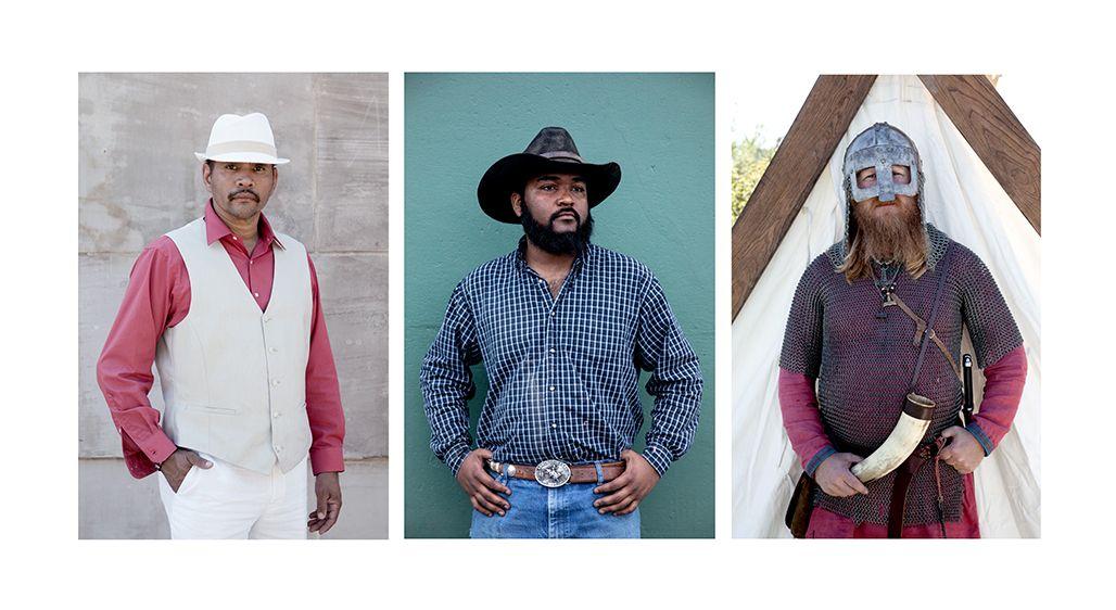 Alvin-Puerto Rican Heritage, Layton-MLK Rodeo Cowboy, Sean-Viking Heritage