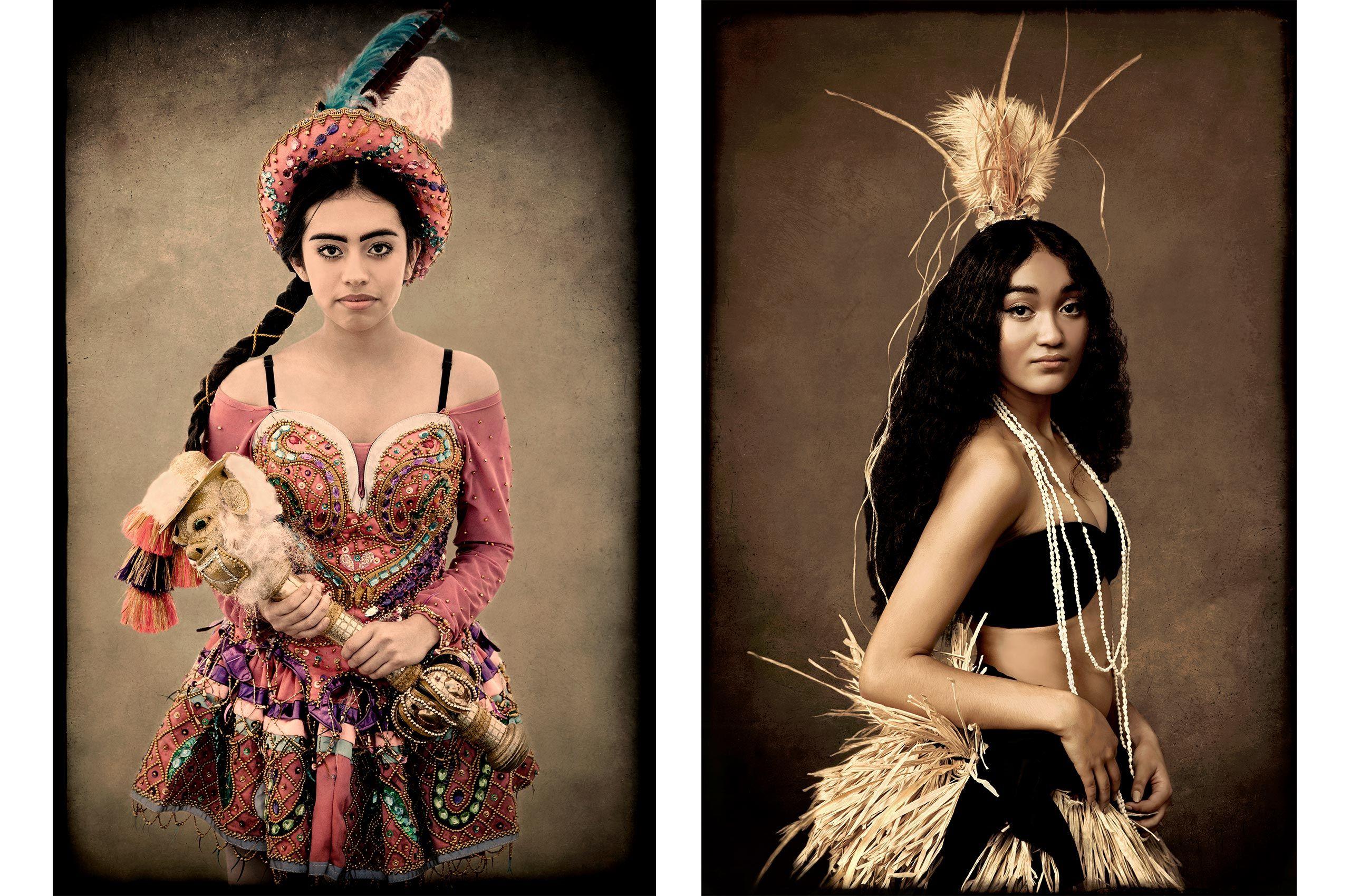Yarenni-Bolivian Heritage,  Kehaulani-Polynesian Heritage