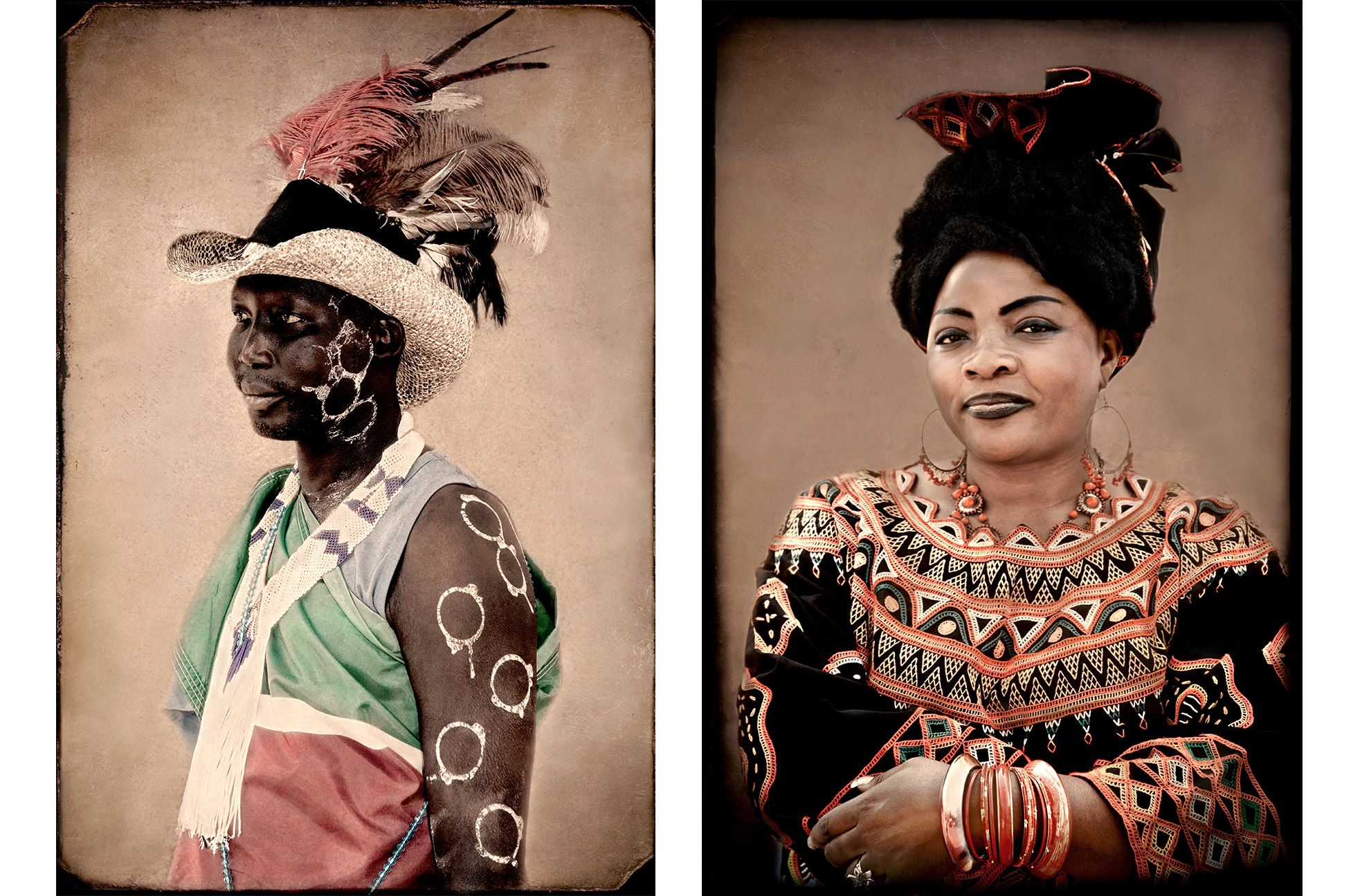 Julius-South Sudanese Heritage, Edith-Cameroonian Heritage