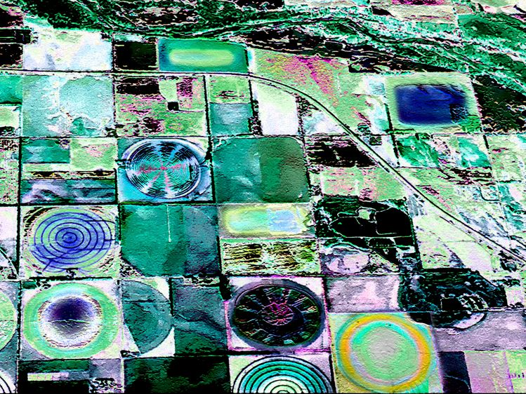 Crop Circles #8, Variation #9