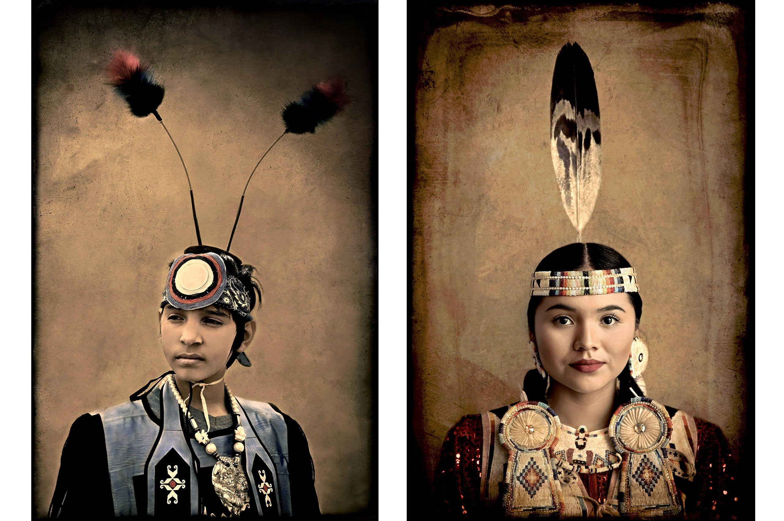 Kickapoo Heritage and Tylah-Navajo Heritage