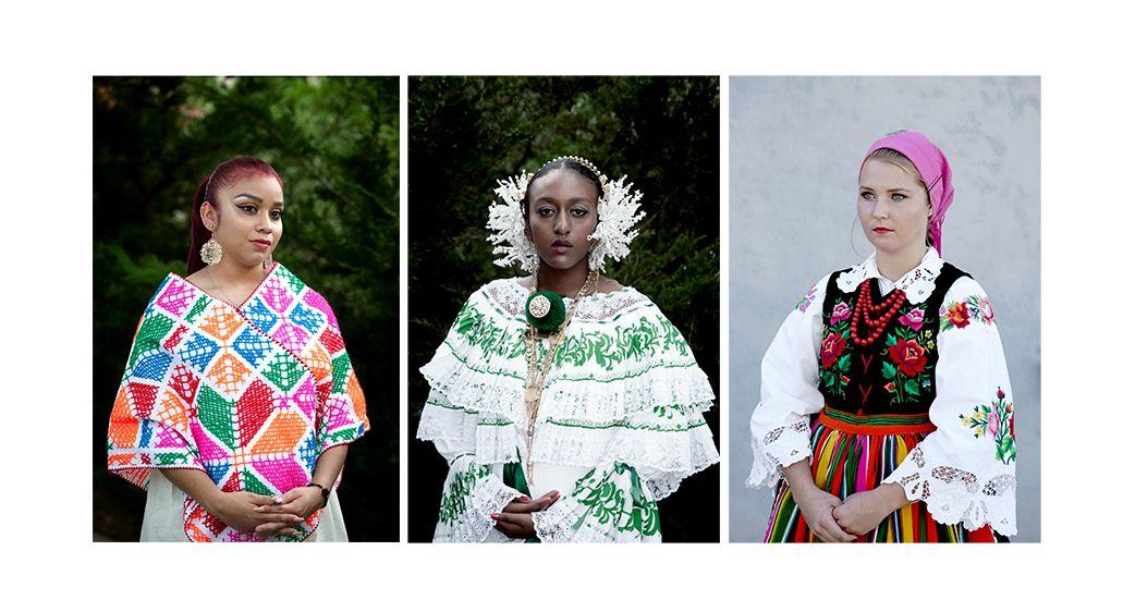 Lesslie-Mexican Heritage, Cyan-Afro Panamanian Heritage, Kamila-Polish Heritage