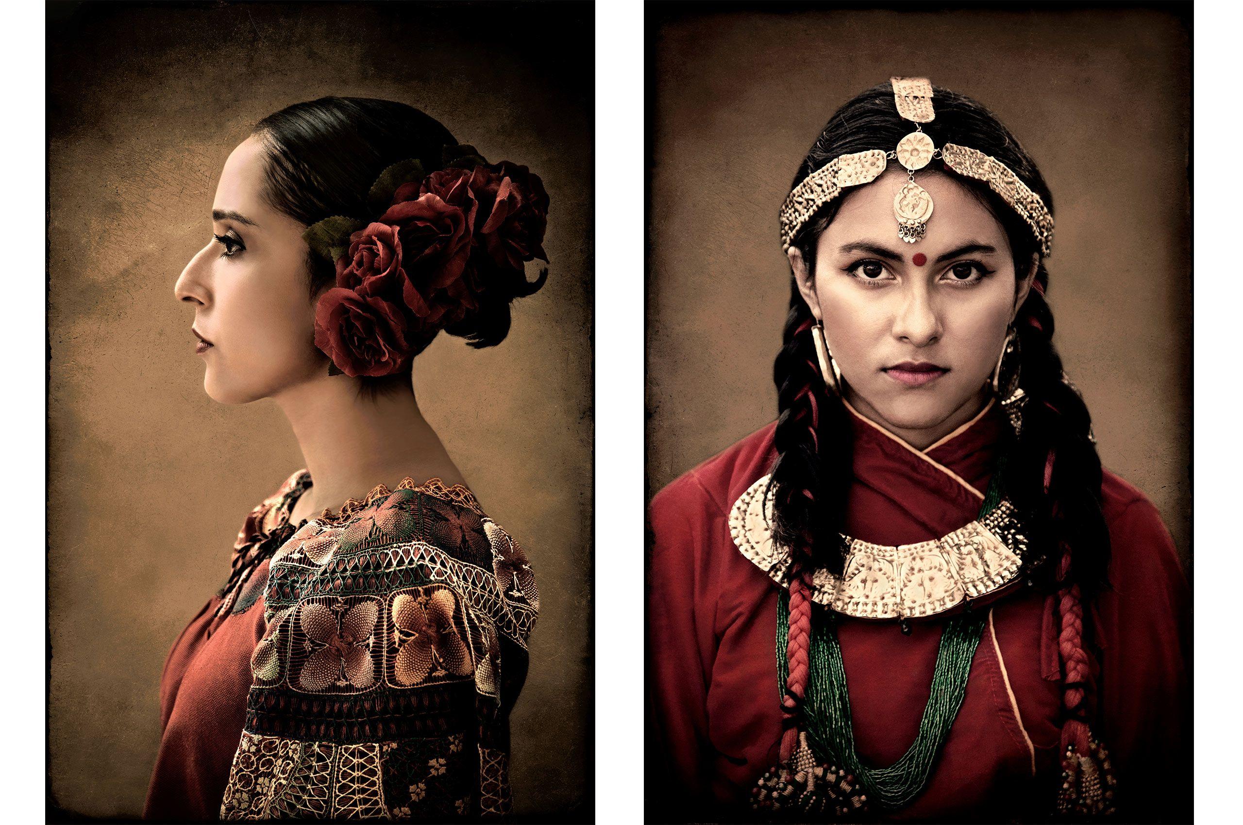 Amanda-Paraguayan Heritage and Akriti-Nepalese Heritage