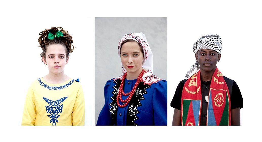 Molly-Irish Heritage, Olivia-Polish Heritage, Nahom-Eritrean Heritage