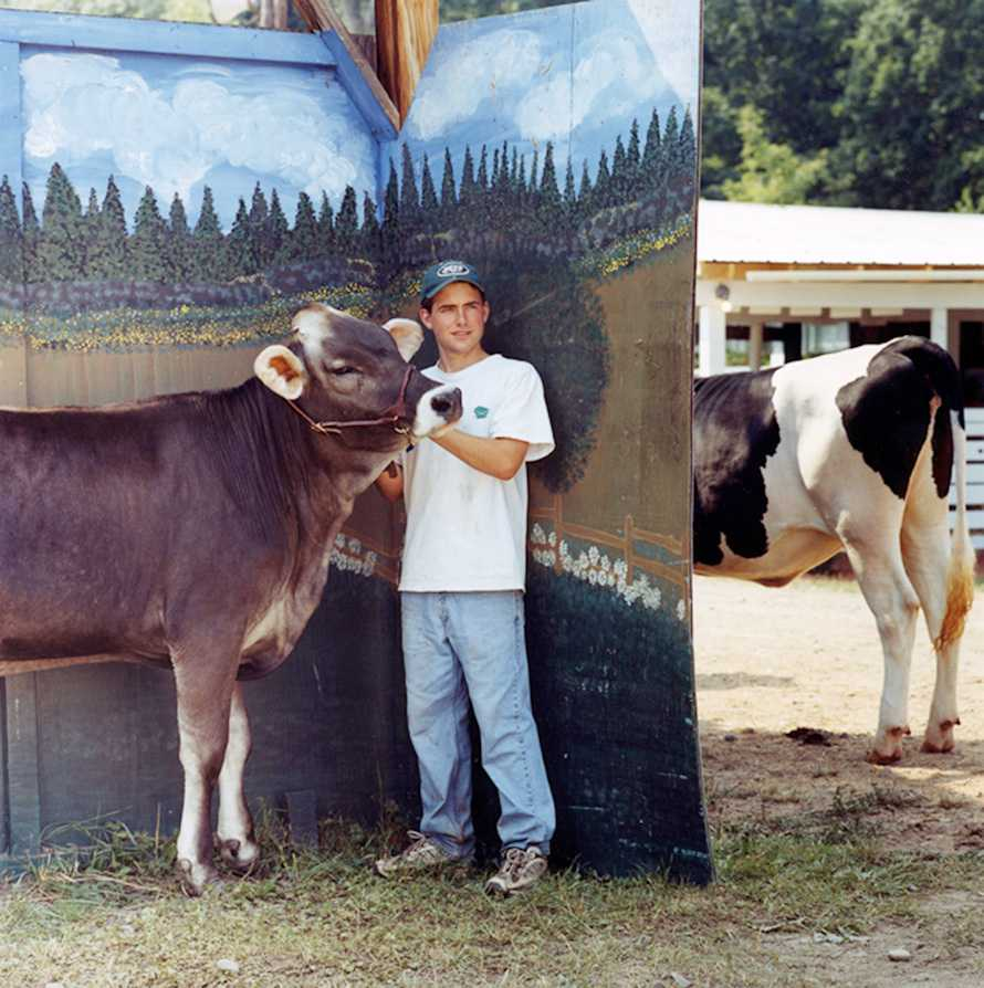 """""""Dairy Competition Winner"""" Otsego County Fair 2002"""