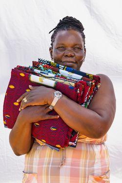 Simprosa Acayo Okot (age 46) founder of Amani  Ya Ju.