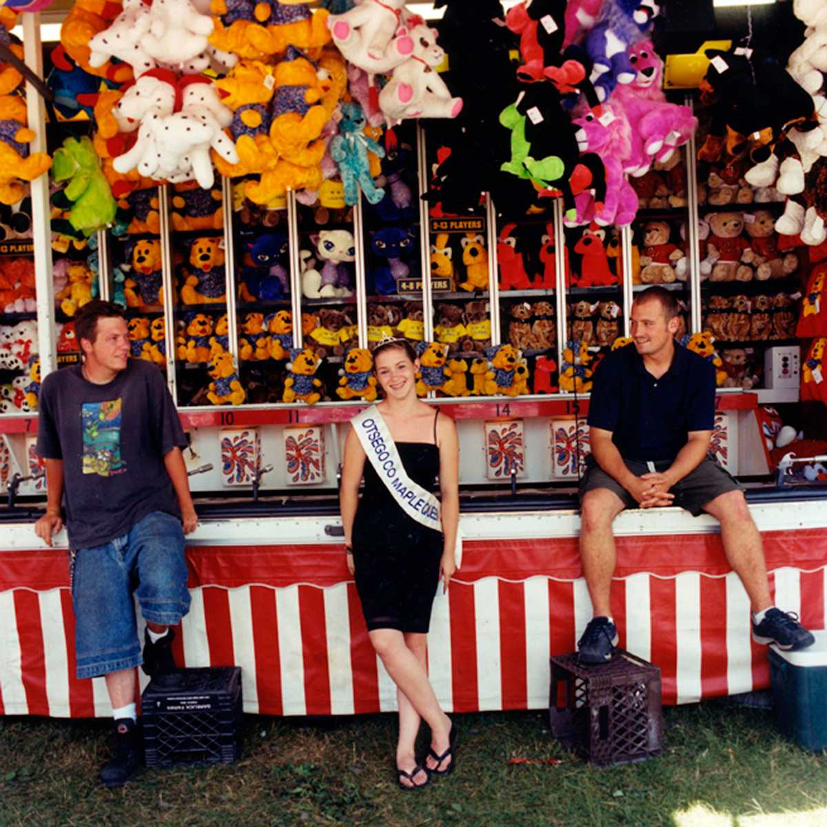 """Admiring The Maple Queen"" Otsego County Fair 2002"