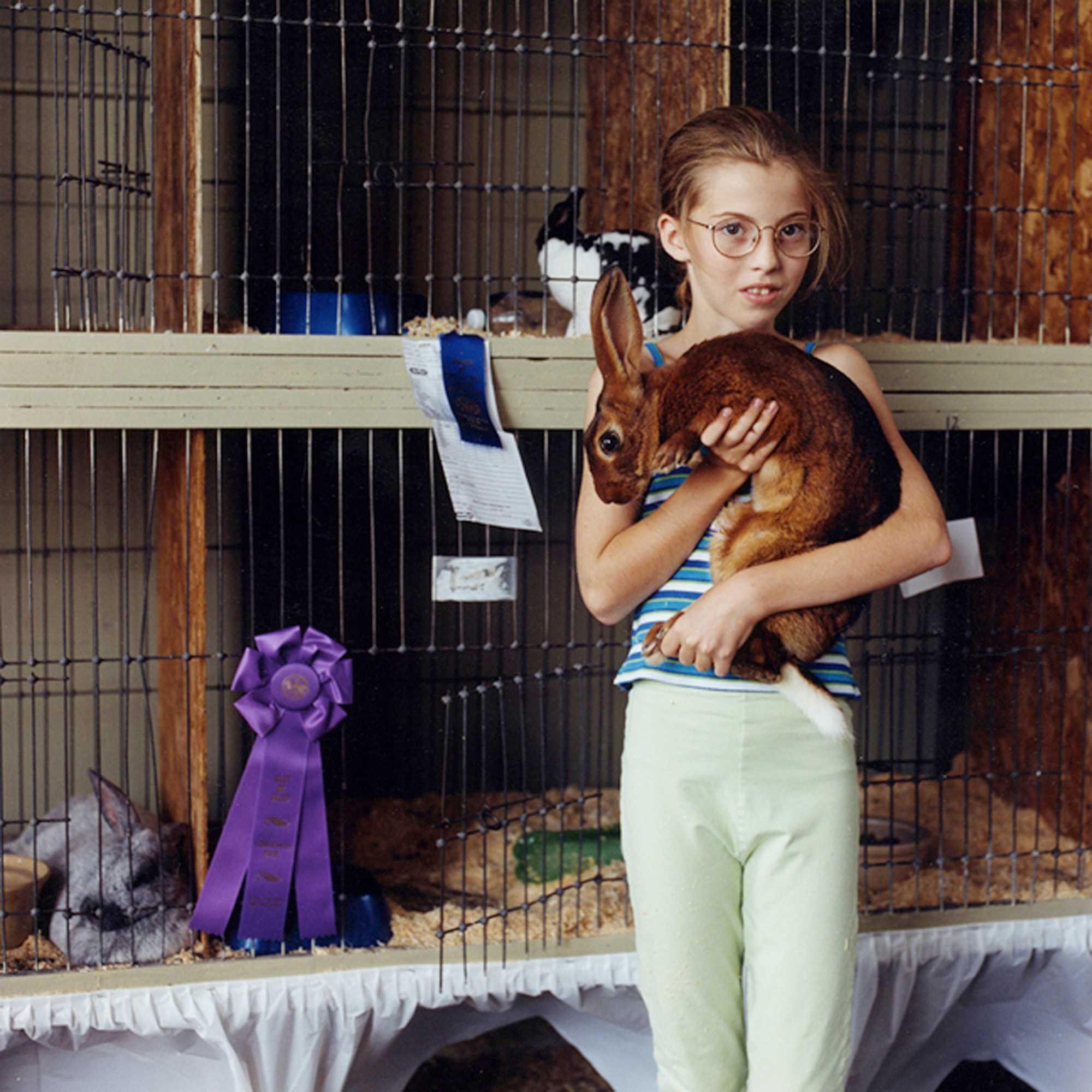"""GrandChampion Rabbit"" Green County Fair 2001"