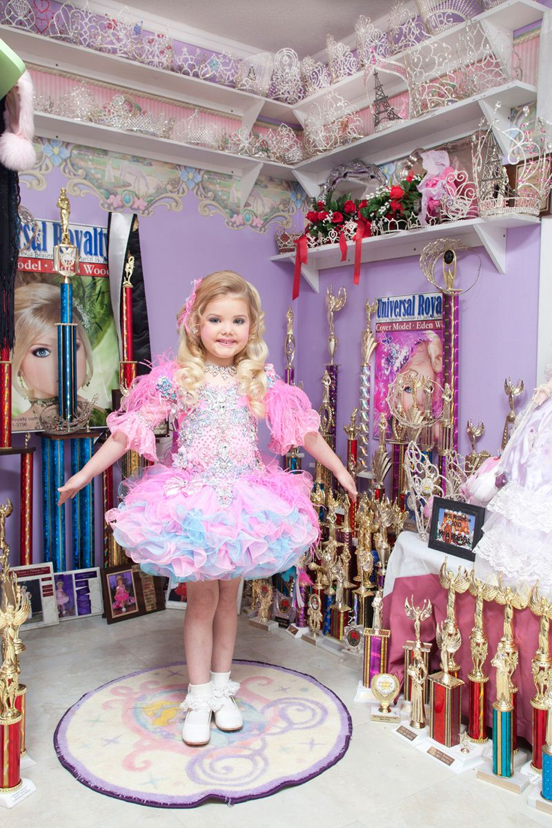 "Client: Good Housekeeping Magazine,""Toddlers in Tiaras""Eden Wood"
