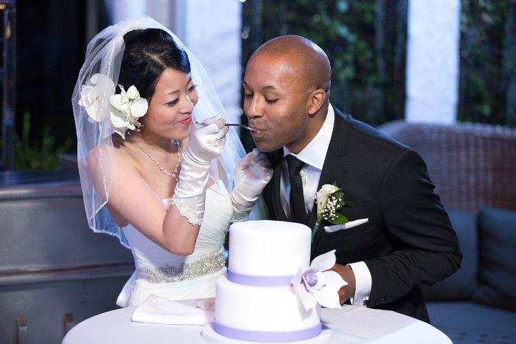 EAT THE CAKE ANNA MAE!Haqq Marriage Celebration,Eventi Hotel Penthouse, NYC