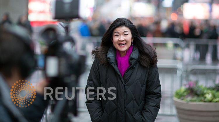 KYOKO GASHA, anchor.Thomson Reuters.