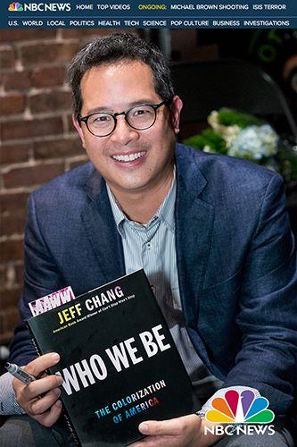 "JEFF CHANG, author.""Who We Be"", ""Can't Stop Won't Stop"""