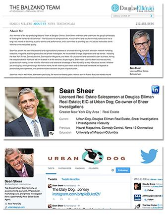 SEAN SHEER, real estate agents.Balzano Team, Douglas Elliman Real Estate