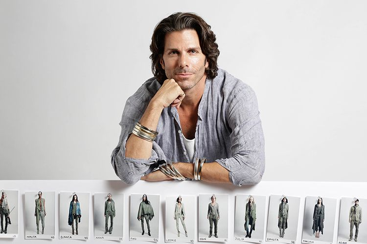 GREG LAUREN, clothing designer.