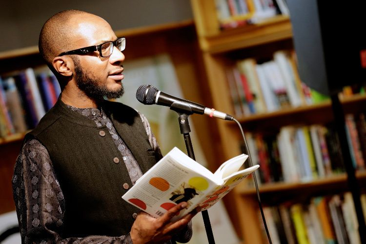 """TEJU COLE, author.""""Every Day is for the Thief"""" Reading, AAWW."""