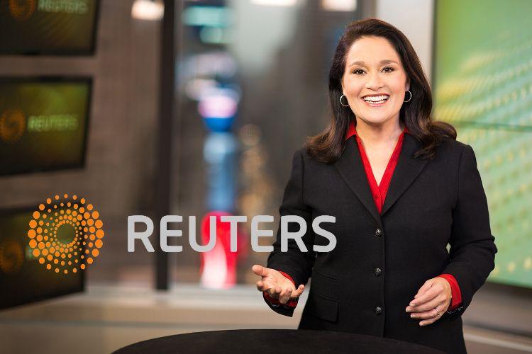 SASHA SALAMA, achor.Thomson Reuters.