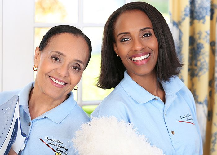 PAULETTE & RACHEL RACINE, ownersCrystal Clean Housekeeping Services.