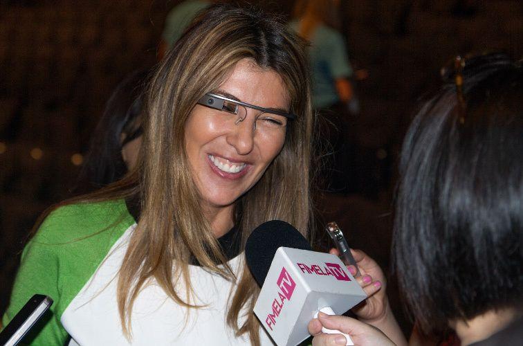NINA GARCIA, Creative Director of Marie Claire Magazine. Project Runway Judge.Mercedes Benz Fashion Week