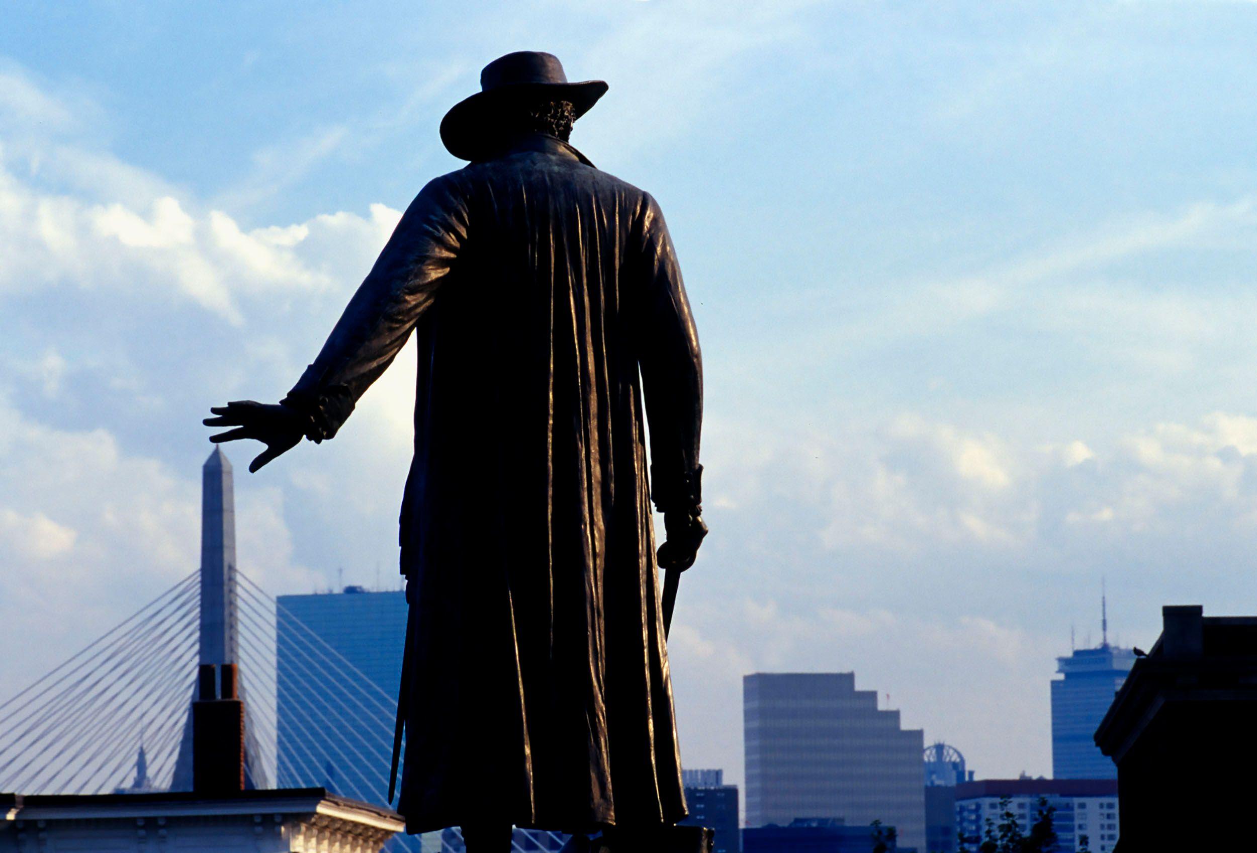 Bunker Hill Bronze Statue