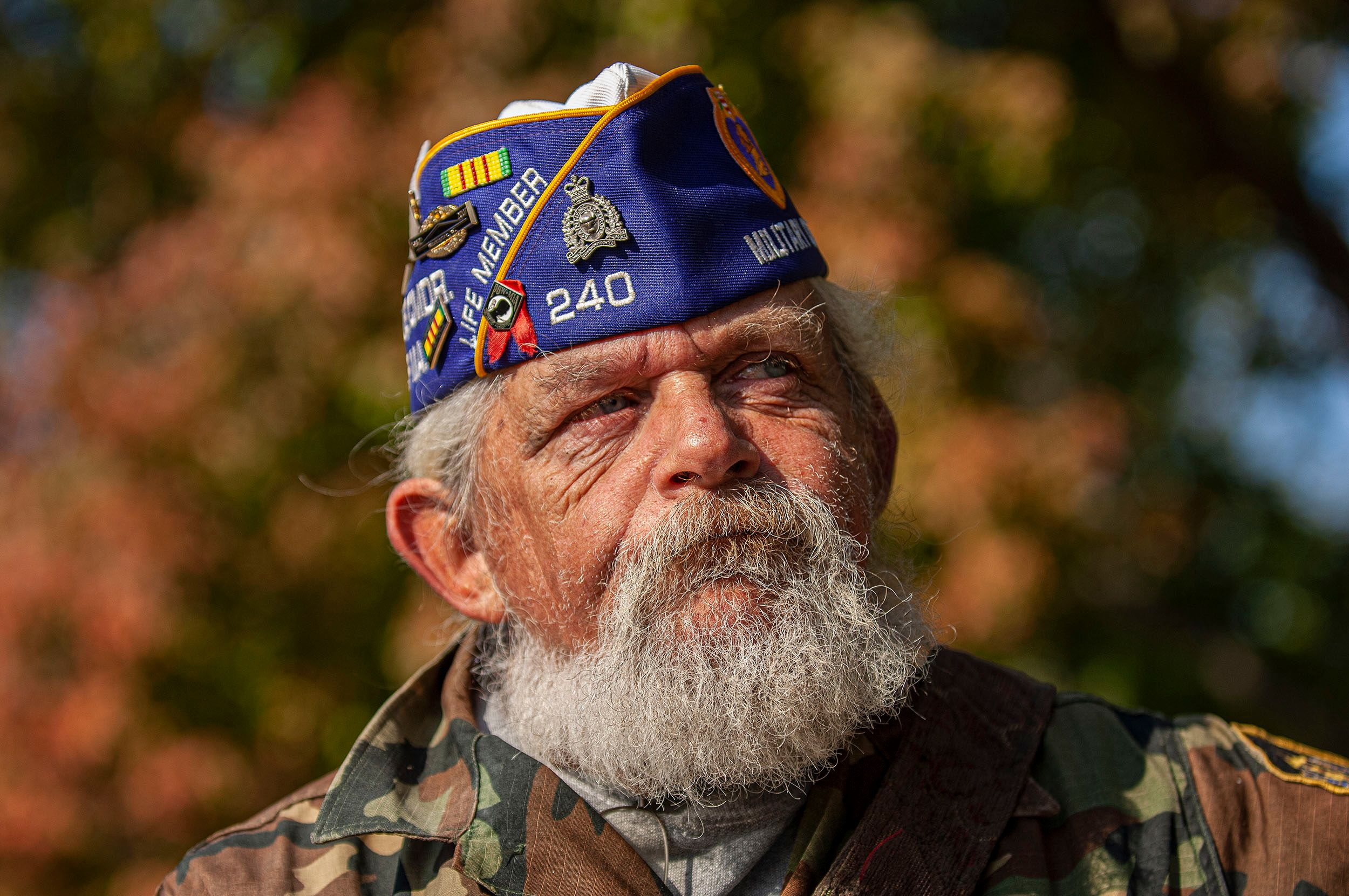 Celebrated Vietnam War veteran