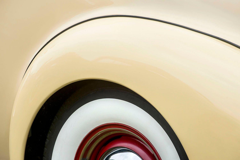 1938 Packard Opera Coup detail