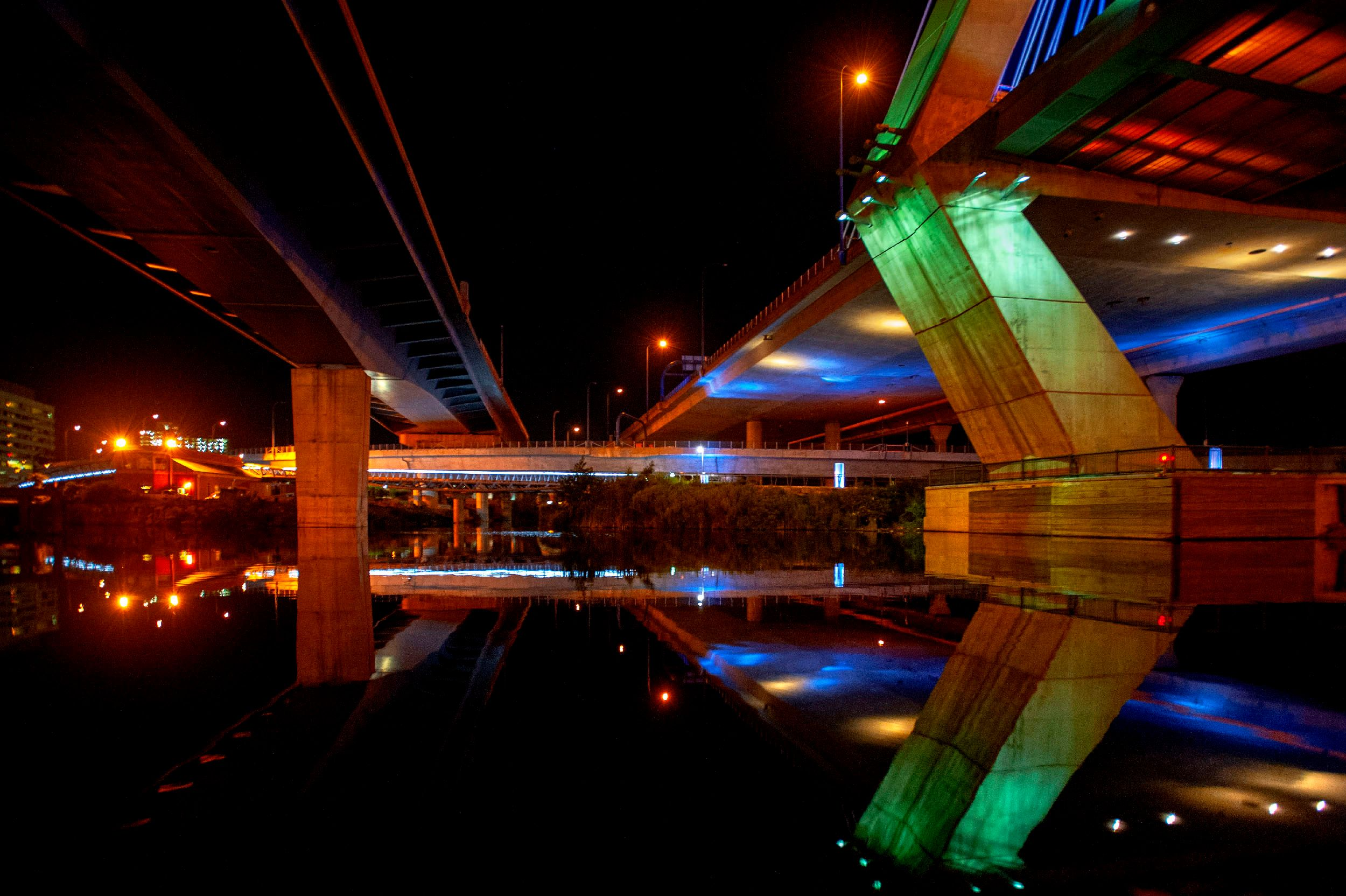Under the Zakim Bridge