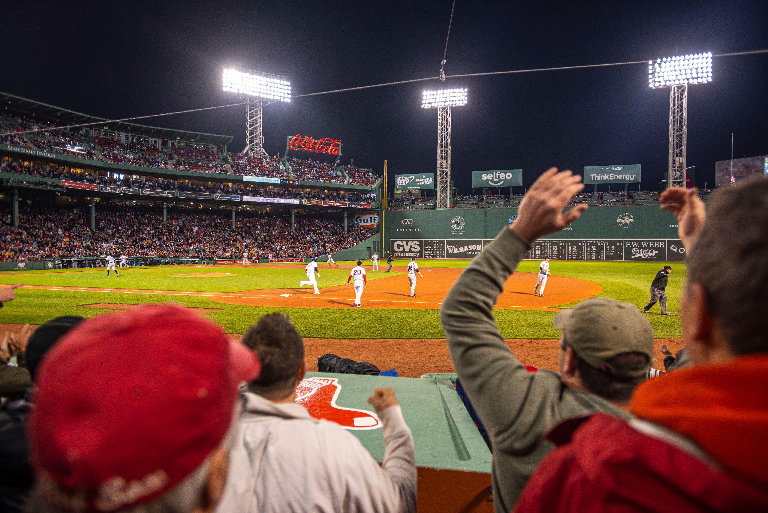 Boston Red Sox Night Game