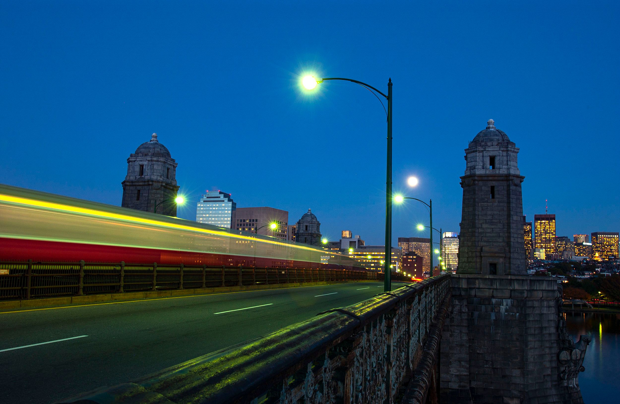 Longfellow Bridge at Dusk