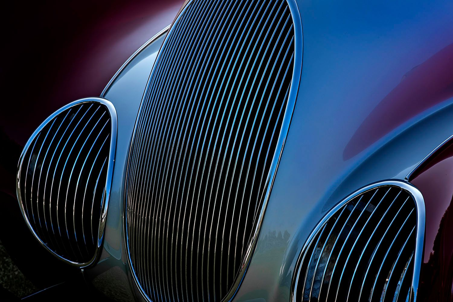 Front Grill of 1937 Talbot-Lago T150CSS
