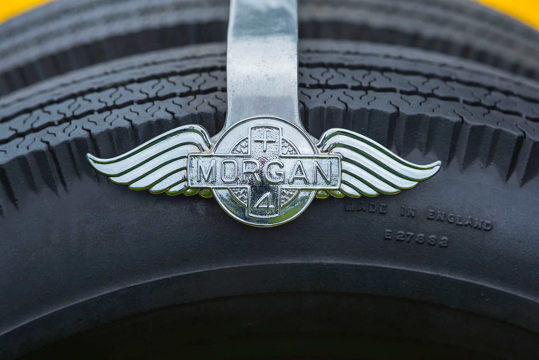 Spare Tire Logo Clasp, Morgan Plus 4 Roadster