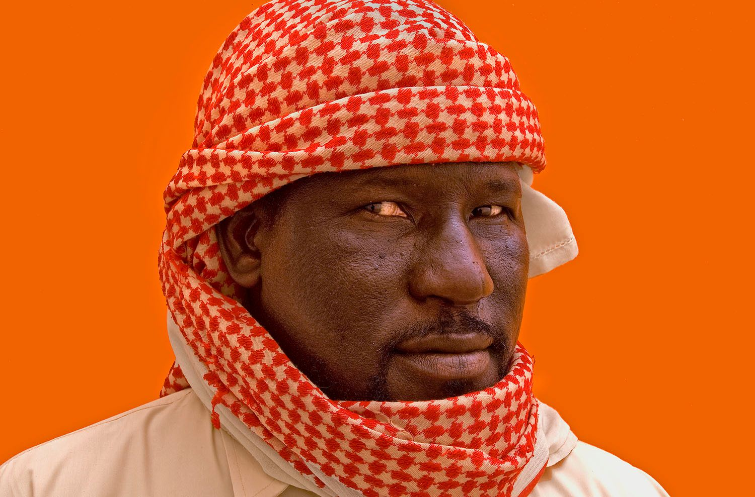 Portrait of Man in Libya