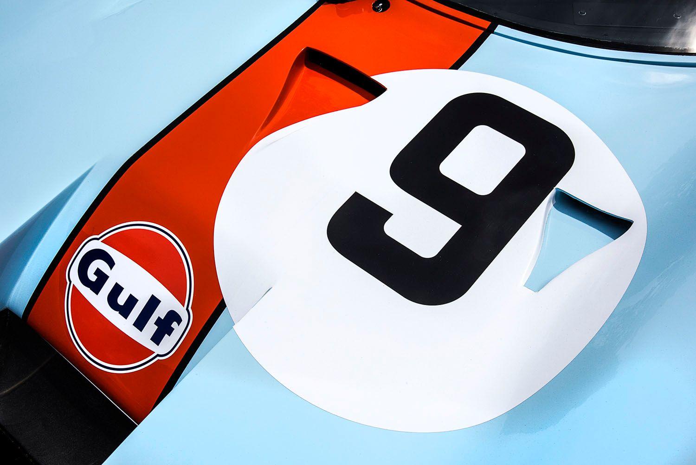 No. 9, 1969 Mirage M2 Race Car