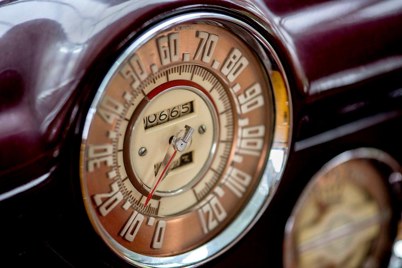 1947 Buick Roadmaster Odometer