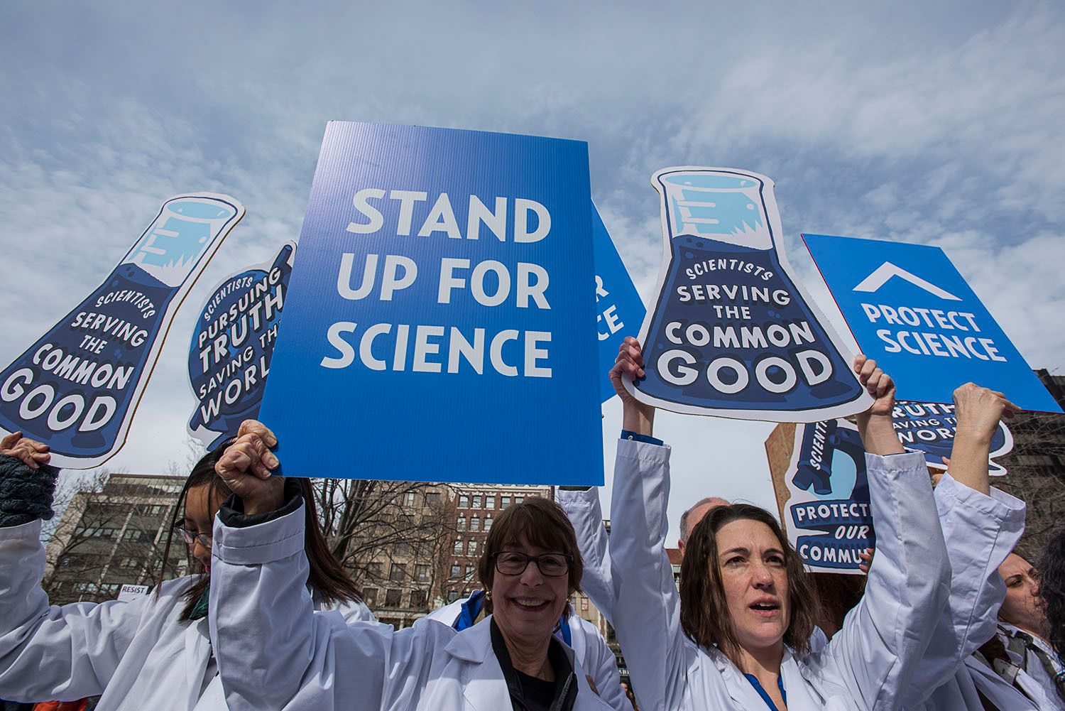 Boston: Stand up for Science