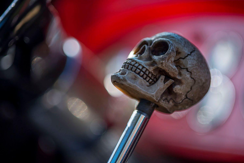 Skull Gear Shifter
