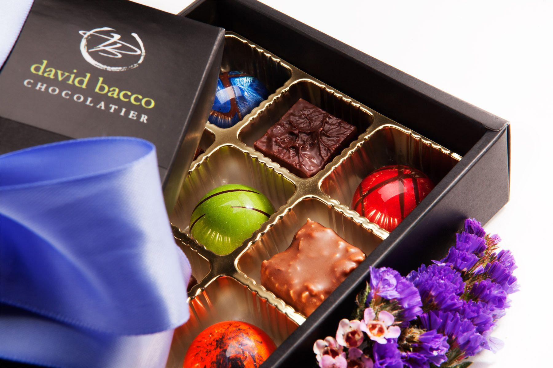 David Bacco Chocolatier, MIra Mesa, CA.