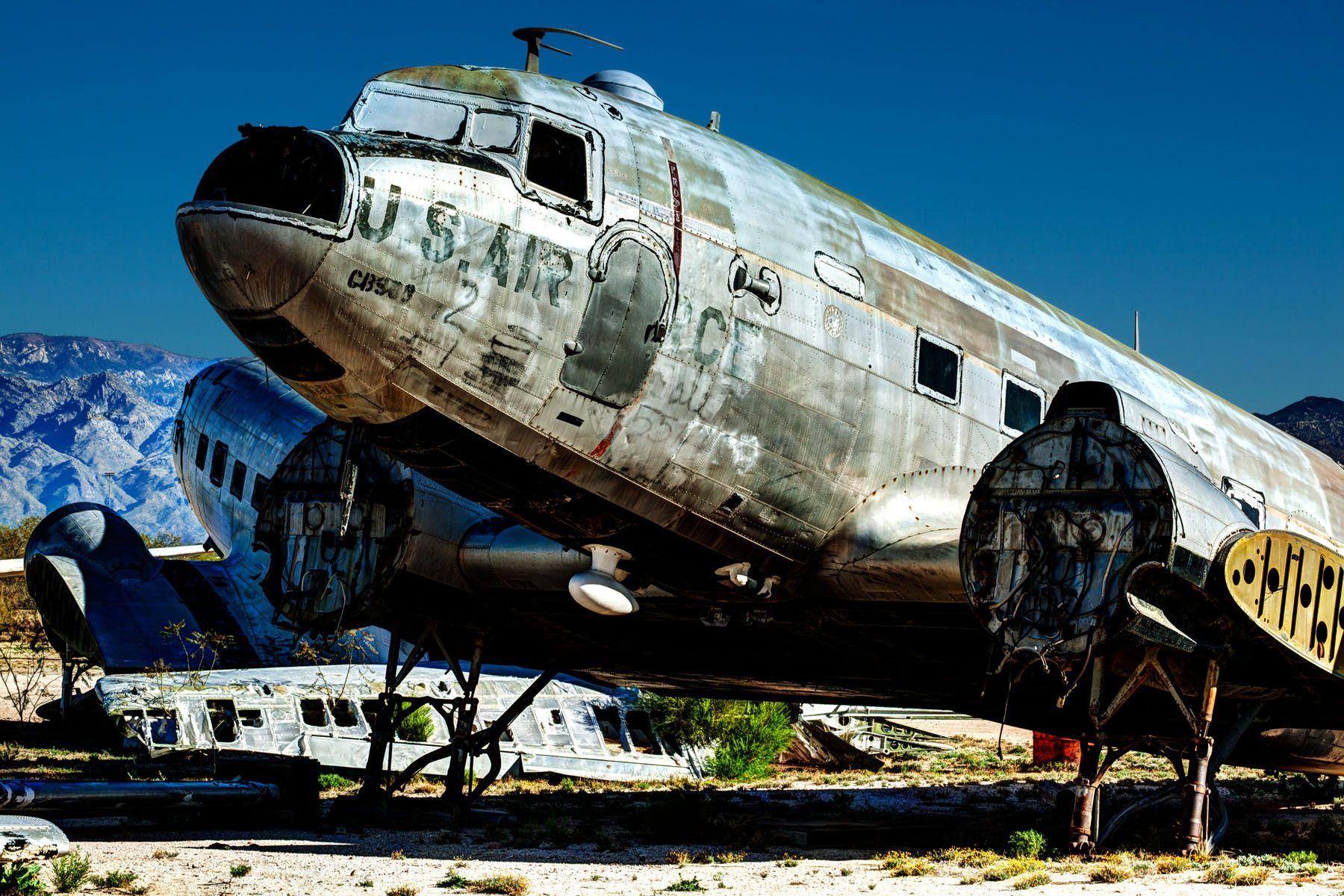 Bone Yard, Tucson, AZ.