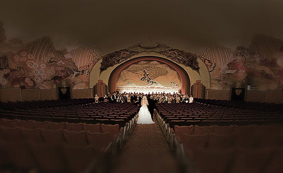 Avalon Theatre, Catalina Island Wedding Ceremony picture.