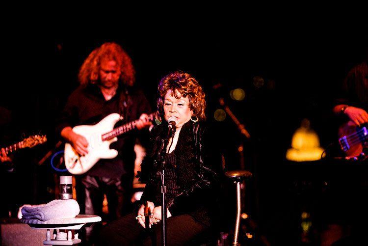 Beverly Wilshire hotel Etta James performance