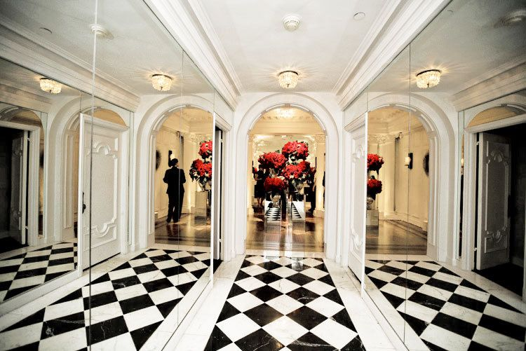 Beverly Wilshire Penthouse entrance