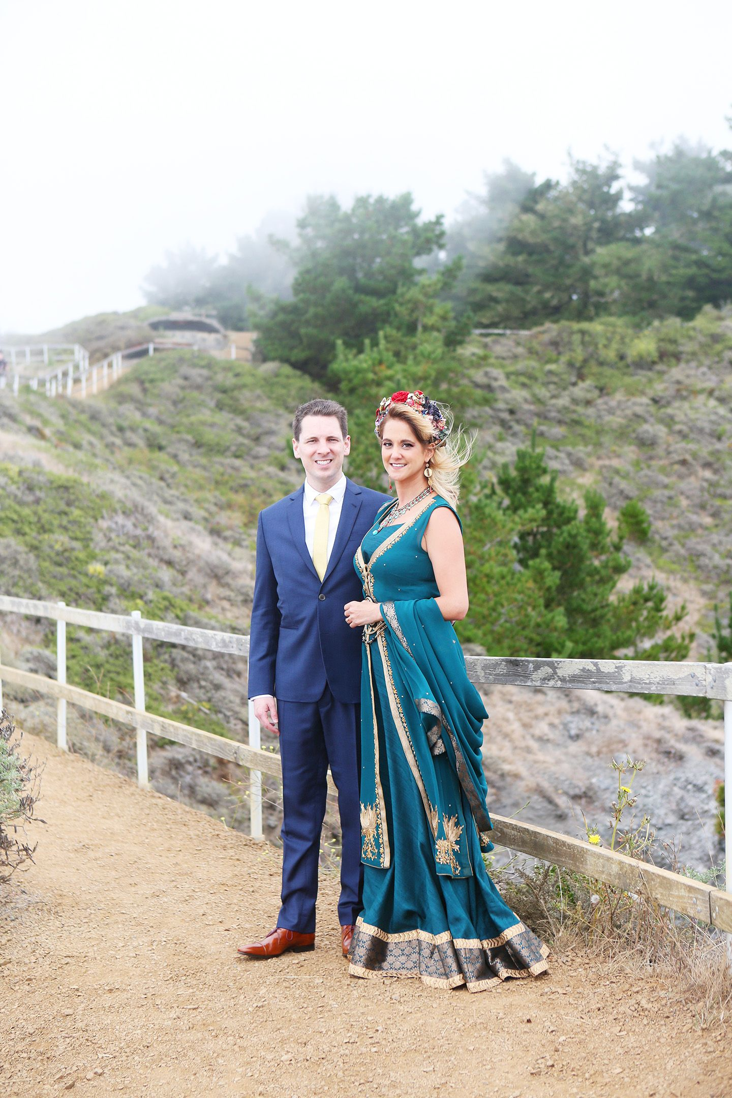 Wedding at Pelican Inn at Muir Beach